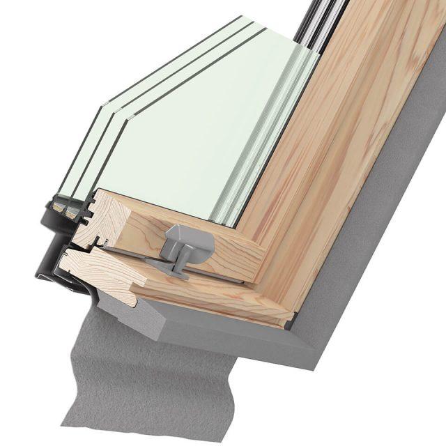 Ultima Energy cross-section of window
